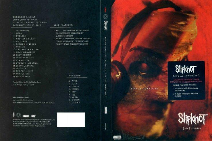 Slipknot — (Sic)nesses (2010)
